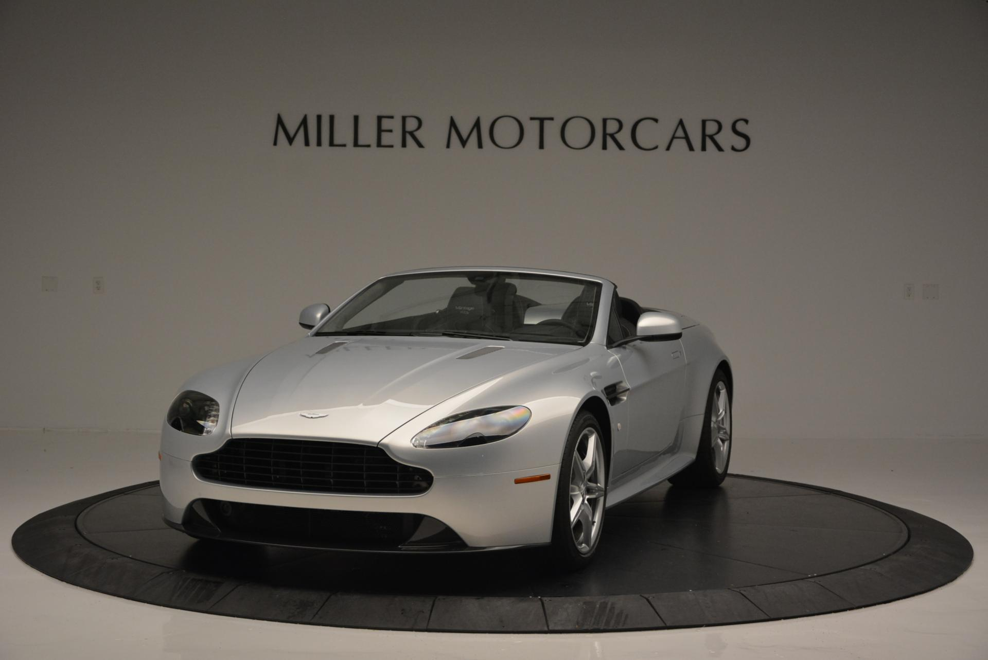 New 2016 Aston Martin V8 Vantage GTS Roadster for sale Sold at Pagani of Greenwich in Greenwich CT 06830 1