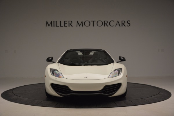 Used 2014 McLaren MP4-12C Spider for sale Sold at Pagani of Greenwich in Greenwich CT 06830 12