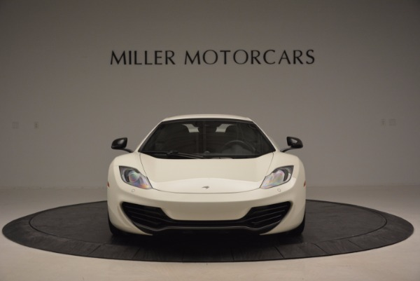 Used 2014 McLaren MP4-12C Spider for sale Sold at Pagani of Greenwich in Greenwich CT 06830 13