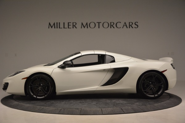 Used 2014 McLaren MP4-12C Spider for sale Sold at Pagani of Greenwich in Greenwich CT 06830 15