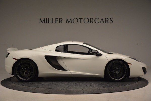 Used 2014 McLaren MP4-12C Spider for sale Sold at Pagani of Greenwich in Greenwich CT 06830 19