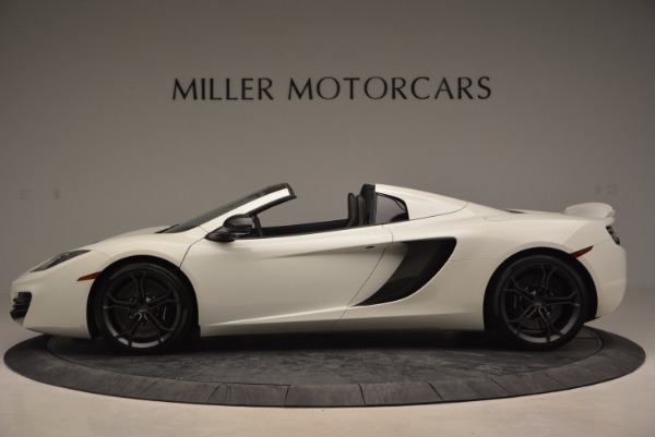Used 2014 McLaren MP4-12C Spider for sale Sold at Pagani of Greenwich in Greenwich CT 06830 3