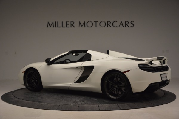 Used 2014 McLaren MP4-12C Spider for sale Sold at Pagani of Greenwich in Greenwich CT 06830 4
