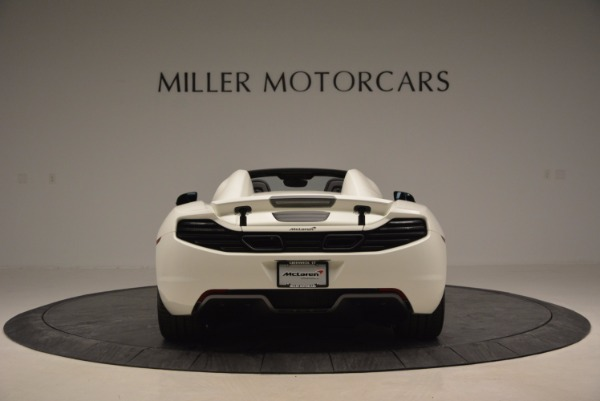 Used 2014 McLaren MP4-12C Spider for sale Sold at Pagani of Greenwich in Greenwich CT 06830 6