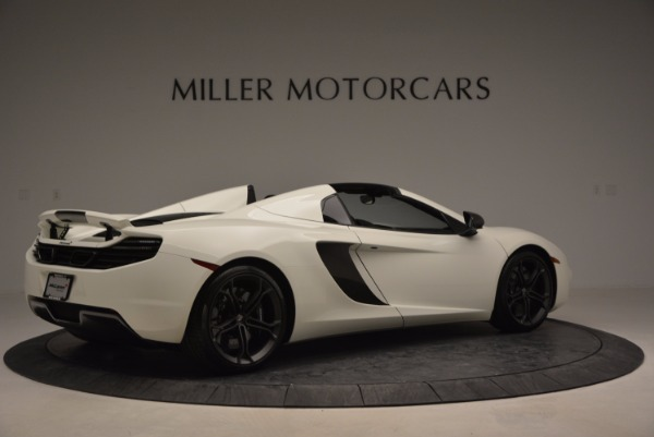 Used 2014 McLaren MP4-12C Spider for sale Sold at Pagani of Greenwich in Greenwich CT 06830 8