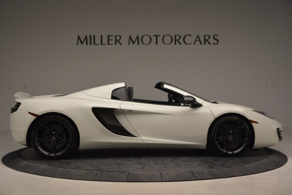 Used 2014 McLaren MP4-12C Spider for sale Sold at Pagani of Greenwich in Greenwich CT 06830 9