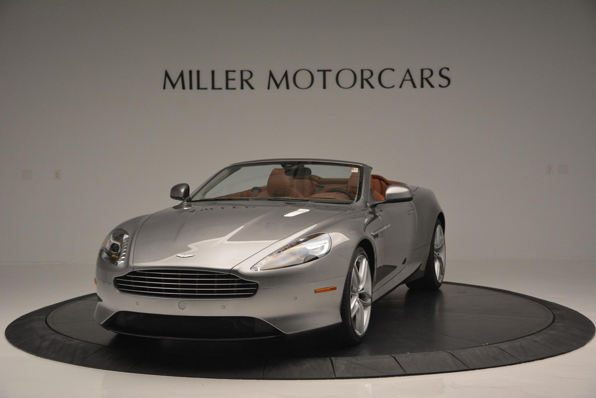 New 2016 Aston Martin DB9 GT Volante for sale Sold at Pagani of Greenwich in Greenwich CT 06830 1