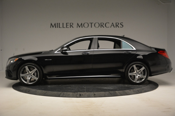Used 2014 Mercedes Benz S-Class S 63 AMG for sale Sold at Pagani of Greenwich in Greenwich CT 06830 3