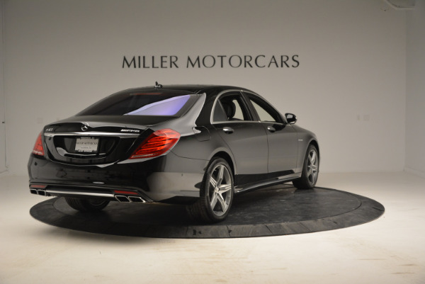 Used 2014 Mercedes Benz S-Class S 63 AMG for sale Sold at Pagani of Greenwich in Greenwich CT 06830 7