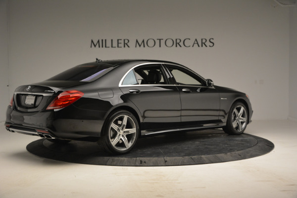 Used 2014 Mercedes Benz S-Class S 63 AMG for sale Sold at Pagani of Greenwich in Greenwich CT 06830 8