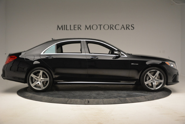 Used 2014 Mercedes Benz S-Class S 63 AMG for sale Sold at Pagani of Greenwich in Greenwich CT 06830 9
