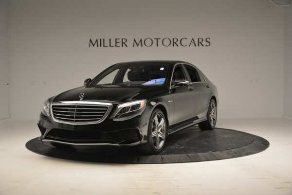Used 2014 Mercedes Benz S-Class S 63 AMG for sale Sold at Pagani of Greenwich in Greenwich CT 06830 1