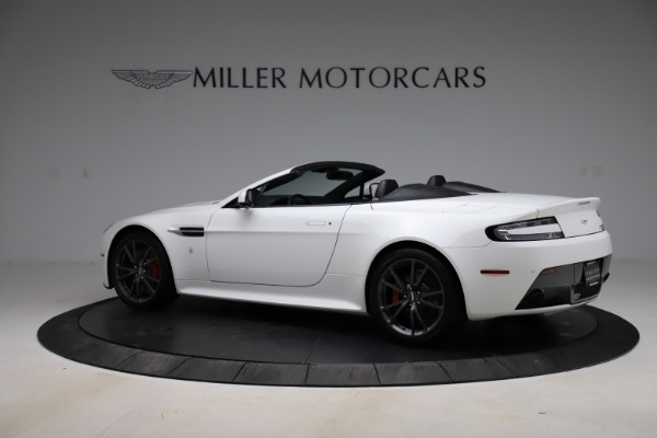 New 2015 Aston Martin Vantage GT GT Roadster for sale Sold at Pagani of Greenwich in Greenwich CT 06830 3