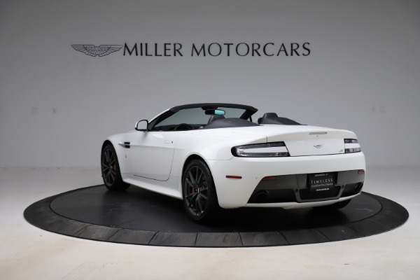New 2015 Aston Martin Vantage GT GT Roadster for sale Sold at Pagani of Greenwich in Greenwich CT 06830 4