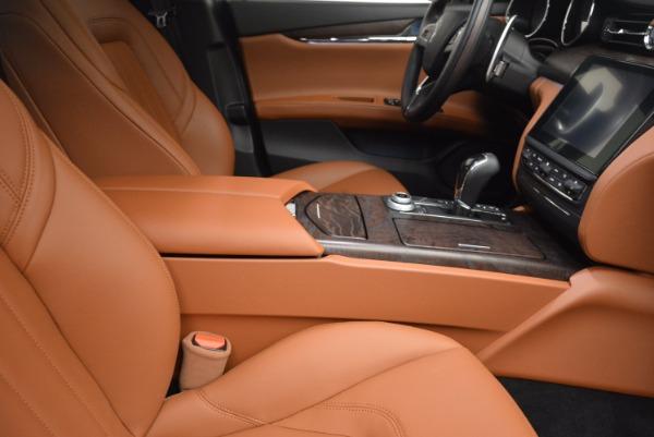 New 2017 Maserati Quattroporte SQ4 for sale Sold at Pagani of Greenwich in Greenwich CT 06830 21