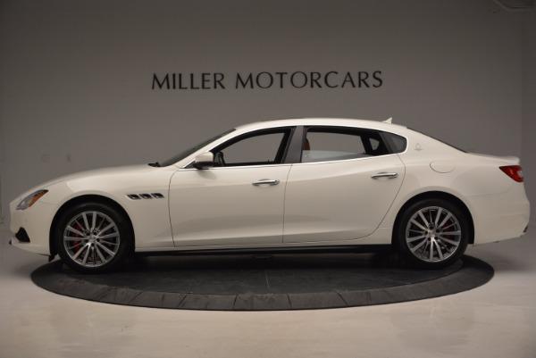 New 2017 Maserati Quattroporte SQ4 for sale Sold at Pagani of Greenwich in Greenwich CT 06830 3