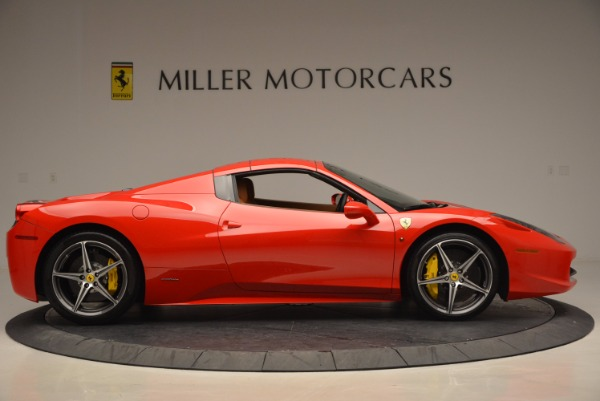 Used 2014 Ferrari 458 Spider for sale Sold at Pagani of Greenwich in Greenwich CT 06830 21