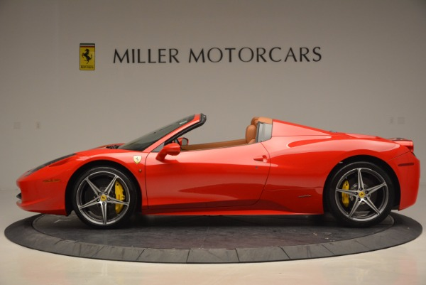 Used 2014 Ferrari 458 Spider for sale Sold at Pagani of Greenwich in Greenwich CT 06830 3