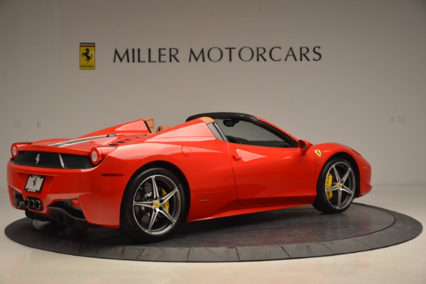 Used 2014 Ferrari 458 Spider for sale Sold at Pagani of Greenwich in Greenwich CT 06830 8