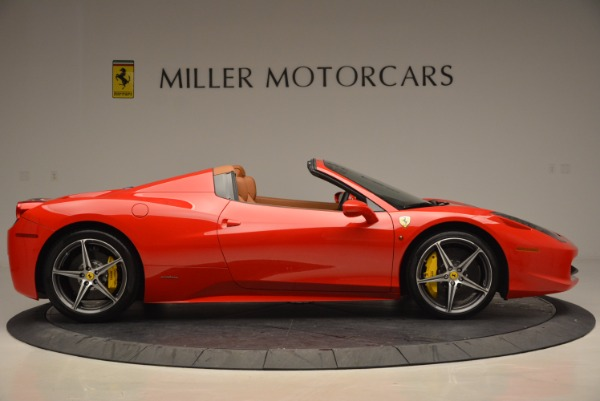 Used 2014 Ferrari 458 Spider for sale Sold at Pagani of Greenwich in Greenwich CT 06830 9