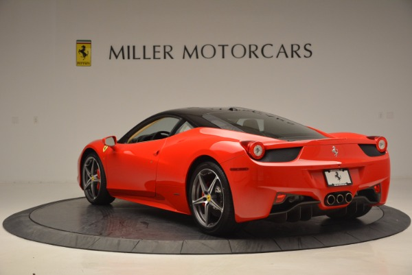 Used 2011 Ferrari 458 Italia for sale Sold at Pagani of Greenwich in Greenwich CT 06830 5