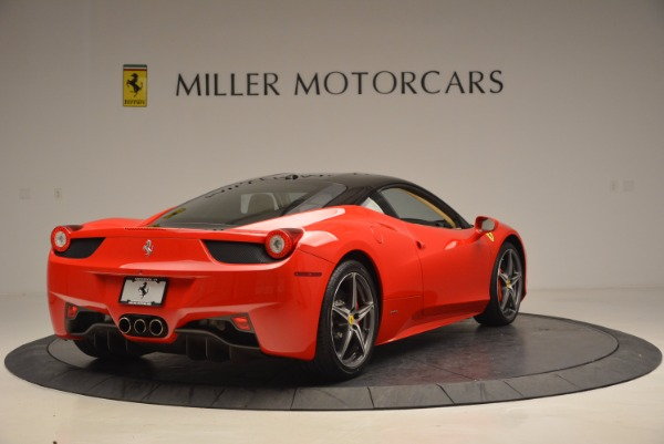 Used 2011 Ferrari 458 Italia for sale Sold at Pagani of Greenwich in Greenwich CT 06830 7