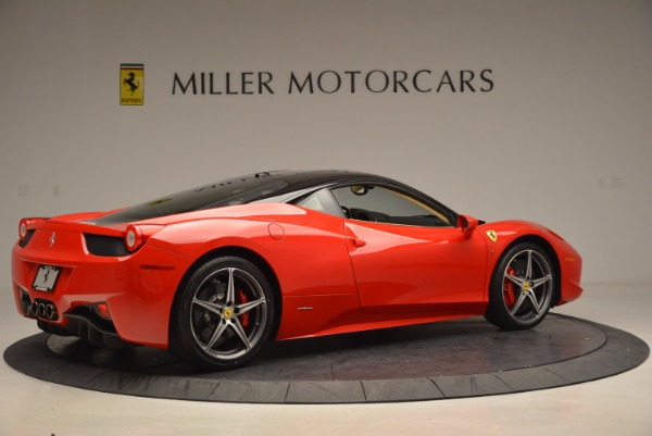 Used 2011 Ferrari 458 Italia for sale Sold at Pagani of Greenwich in Greenwich CT 06830 8