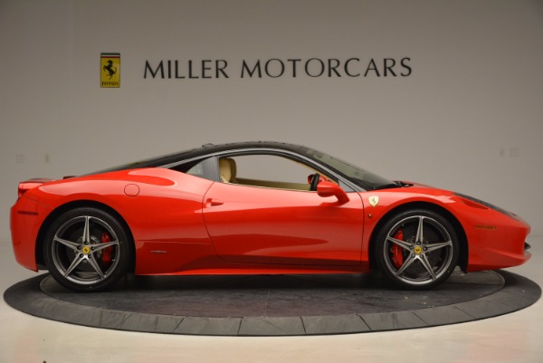 Used 2011 Ferrari 458 Italia for sale Sold at Pagani of Greenwich in Greenwich CT 06830 9