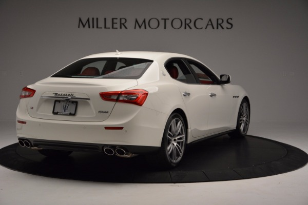 New 2017 Maserati Ghibli SQ4 for sale Sold at Pagani of Greenwich in Greenwich CT 06830 7