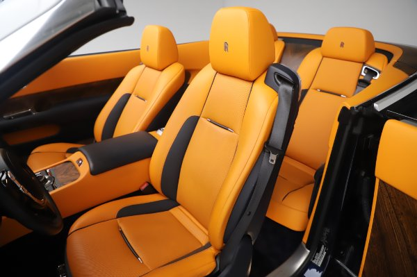 Used 2017 Rolls-Royce Dawn for sale $239,900 at Pagani of Greenwich in Greenwich CT 06830 21