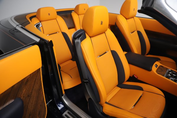 Used 2017 Rolls-Royce Dawn for sale $239,900 at Pagani of Greenwich in Greenwich CT 06830 22
