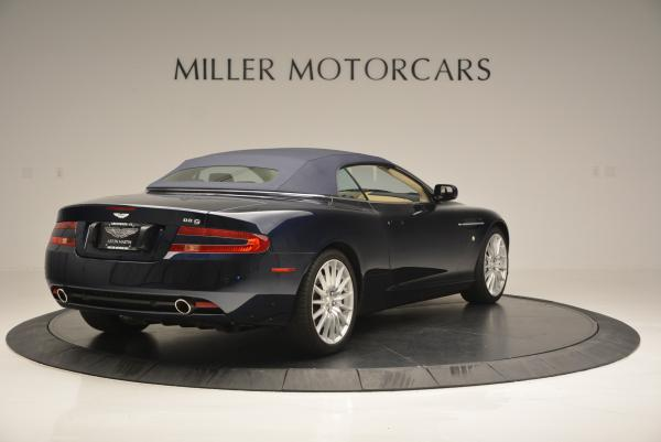 Used 2007 Aston Martin DB9 Volante for sale Sold at Pagani of Greenwich in Greenwich CT 06830 19