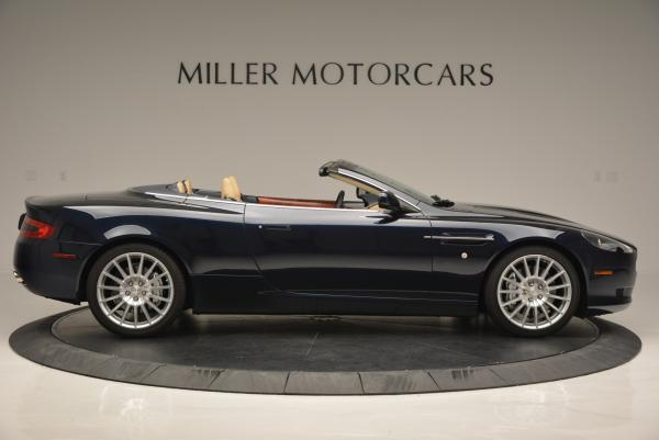 Used 2007 Aston Martin DB9 Volante for sale Sold at Pagani of Greenwich in Greenwich CT 06830 9