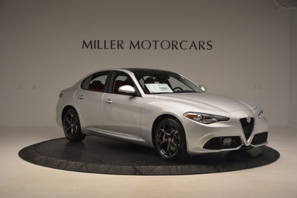 New 2017 Alfa Romeo Giulia Ti Q4 for sale Sold at Pagani of Greenwich in Greenwich CT 06830 13
