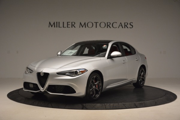 New 2017 Alfa Romeo Giulia Ti Q4 for sale Sold at Pagani of Greenwich in Greenwich CT 06830 4