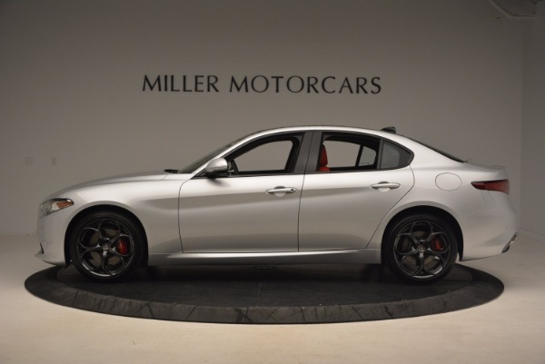 New 2017 Alfa Romeo Giulia Ti Q4 for sale Sold at Pagani of Greenwich in Greenwich CT 06830 5