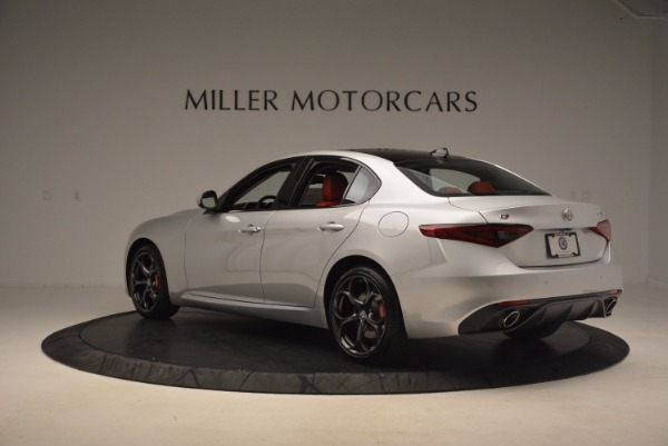 New 2017 Alfa Romeo Giulia Ti Q4 for sale Sold at Pagani of Greenwich in Greenwich CT 06830 6