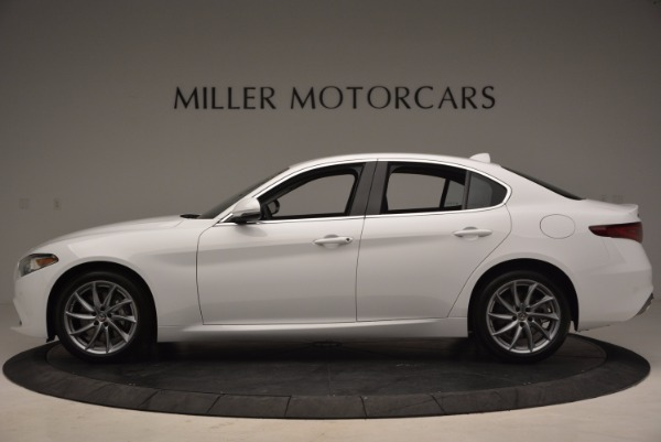 New 2017 Alfa Romeo Giulia Q4 for sale Sold at Pagani of Greenwich in Greenwich CT 06830 3