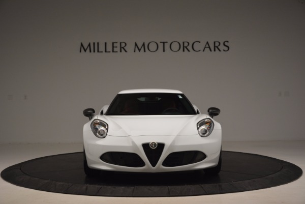 New 2016 Alfa Romeo 4C Coupe for sale Sold at Pagani of Greenwich in Greenwich CT 06830 12