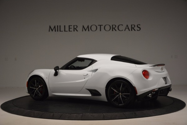 New 2016 Alfa Romeo 4C Coupe for sale Sold at Pagani of Greenwich in Greenwich CT 06830 4