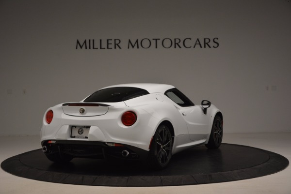 New 2016 Alfa Romeo 4C Coupe for sale Sold at Pagani of Greenwich in Greenwich CT 06830 7