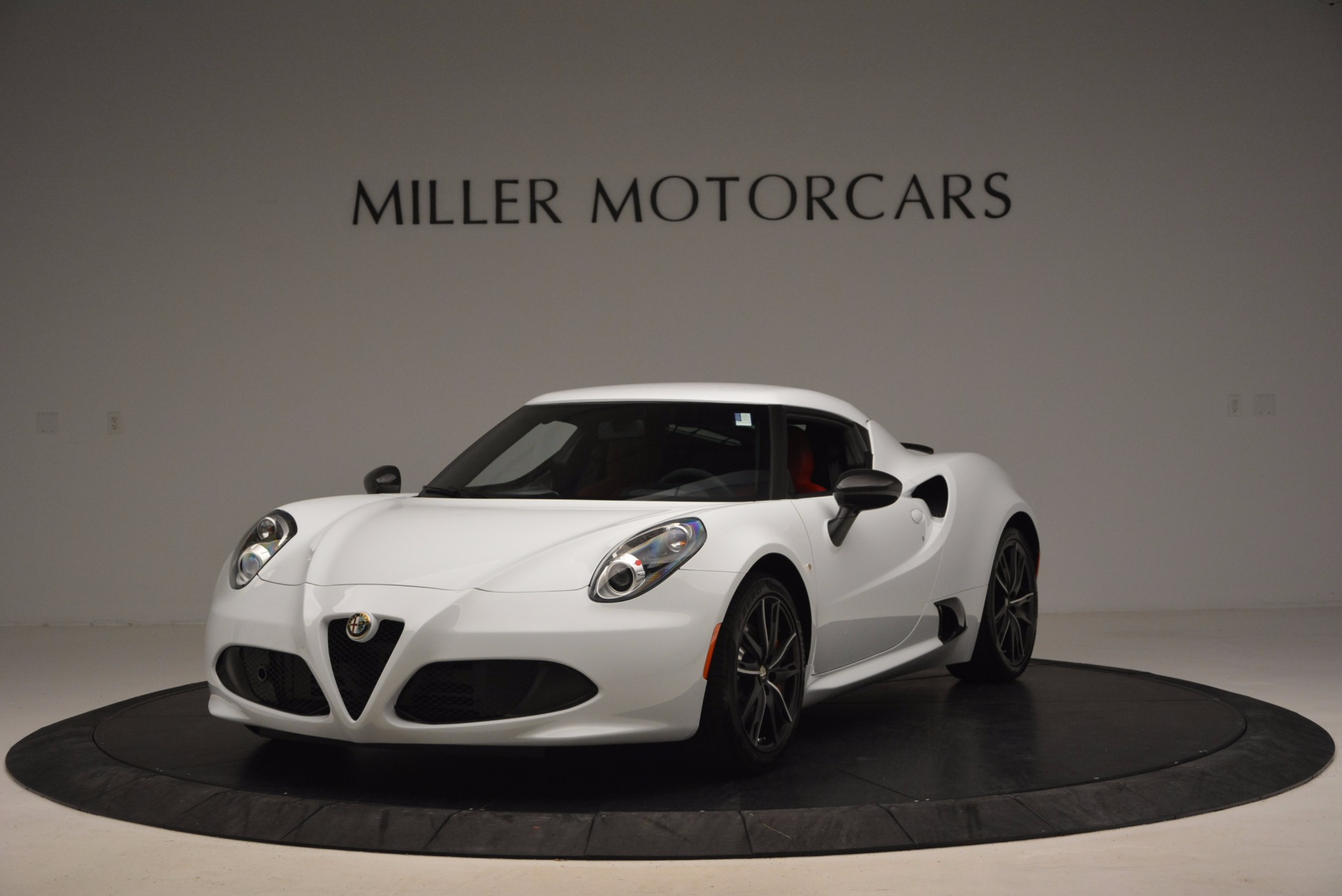 New 2016 Alfa Romeo 4C Coupe for sale Sold at Pagani of Greenwich in Greenwich CT 06830 1