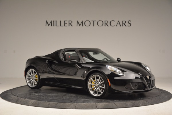 New 2016 Alfa Romeo 4C Spider for sale Sold at Pagani of Greenwich in Greenwich CT 06830 10