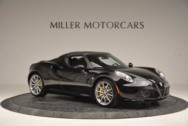 New 2016 Alfa Romeo 4C Spider for sale Sold at Pagani of Greenwich in Greenwich CT 06830 22