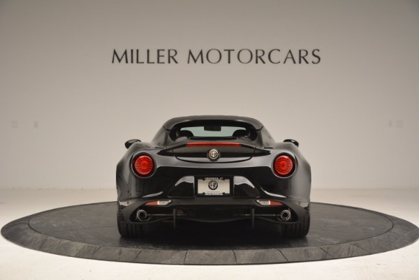New 2016 Alfa Romeo 4C Spider for sale Sold at Pagani of Greenwich in Greenwich CT 06830 6
