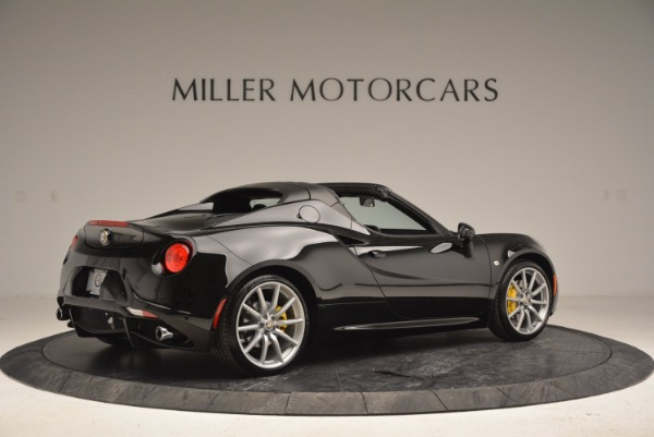 New 2016 Alfa Romeo 4C Spider for sale Sold at Pagani of Greenwich in Greenwich CT 06830 8