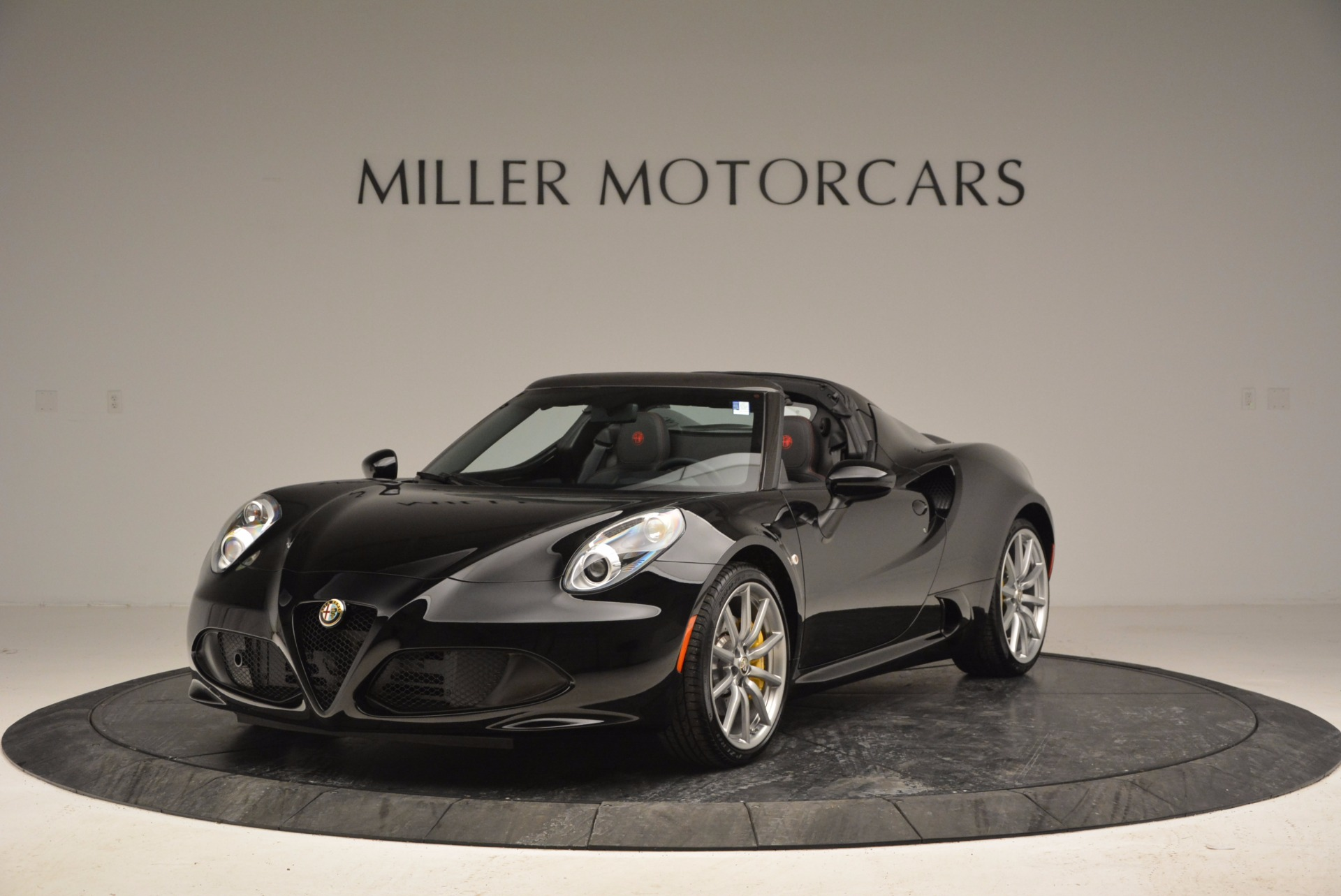 New 2016 Alfa Romeo 4C Spider for sale Sold at Pagani of Greenwich in Greenwich CT 06830 1