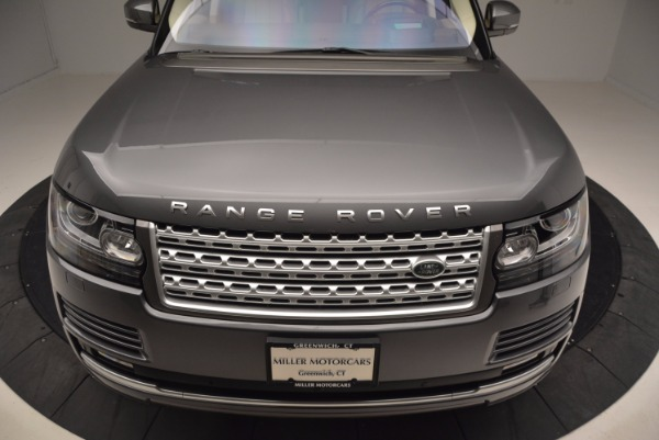 Used 2016 Land Rover Range Rover HSE TD6 for sale Sold at Pagani of Greenwich in Greenwich CT 06830 13