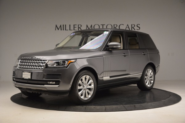 Used 2016 Land Rover Range Rover HSE TD6 for sale Sold at Pagani of Greenwich in Greenwich CT 06830 2