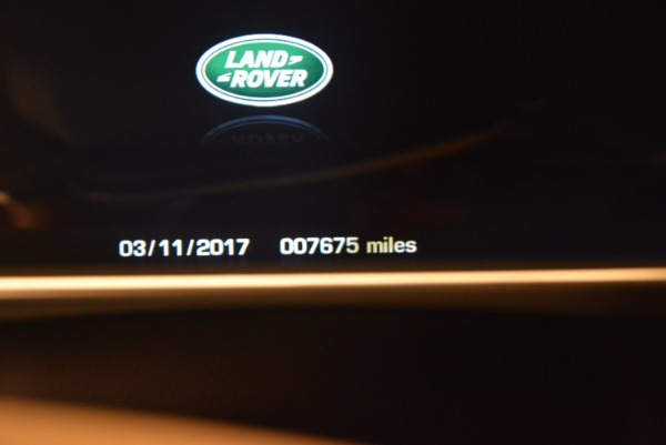 Used 2016 Land Rover Range Rover HSE TD6 for sale Sold at Pagani of Greenwich in Greenwich CT 06830 23
